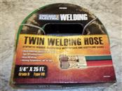 CHICAGO ELECTRIC 60686 1/4 IN. X 25 FT. GRADE R, TYPE VD TWIN WELDING HOSE